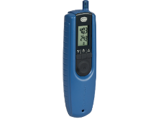 A device for measuring the temperature and humidity of the air. Measuring range: from 5 to 98% relative humidity of the air from –15 up to +50 ºC. A small and precise thermohygrometer in a compact case for many fields of application.